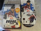 SONY PS2 GAME - NHL 2004